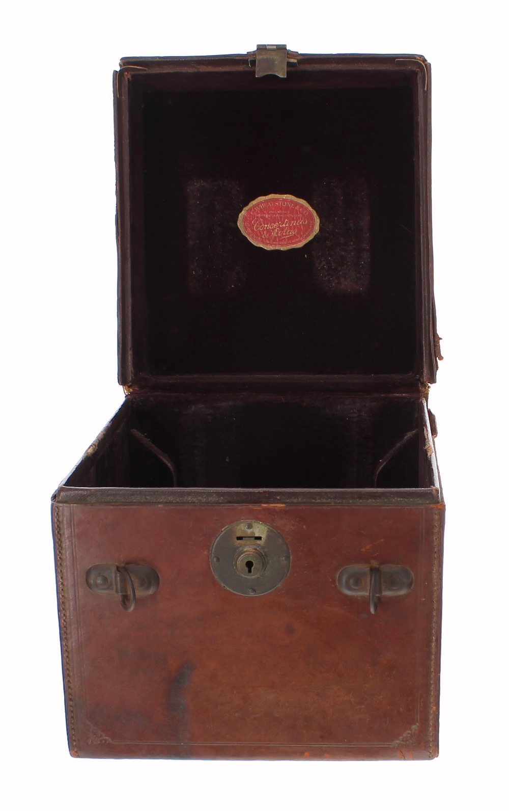 Lot 1218 - Fine and rare C. Wheatstone & Co specially commissioned large concertina with Jeffries fingering,