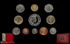 Royal Mint United Kingdom 2003 Proof Coi