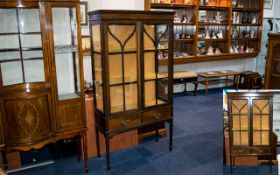 Early 20th Century Glazed Display Cabine