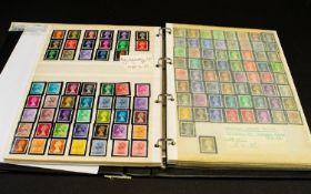 A Four Ring Binder containing GB stamps