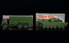 Dinky Diecast, Two Models In Original Bo