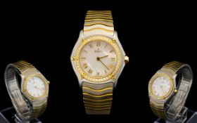 Ebel Ladies Bimetal Wristwatch In 18ct G