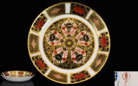Royal Crown Derby Imari Pattern Circular