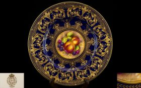 Royal Worcester Superb Quality Hand Pain