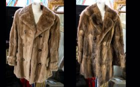 Three Fur Coats comprising 1. Musquash t