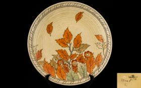 Charlotte Rhead Signed Crown Ducal Large
