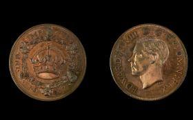Edward VIII Date 1937 Proof Retro Pattern Wreath Crown, Plain Edge - Please See Photo to Confirm.