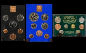 Royal Mint - A Good Collection of Great Britian and Northern Ireland Proof Struck Coin Sets ( 3 )