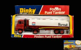DInky Diecast Scale Model Foden Fuel Tan
