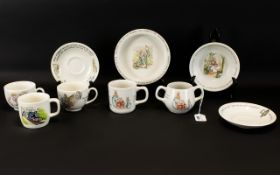 A Collection of Wedgwood Peter Rabbit Nu