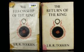 J. R. R Tolkein Two Hardback Books Retur