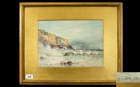 Austin Smith - A Stormy Coastal Landscap