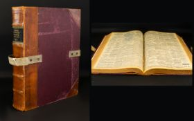 A Large Bound Volume Of Evening Dispatch
