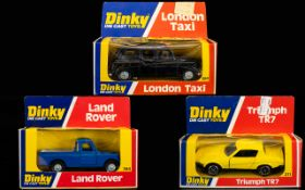 Dinky Diecast Scale Model Cars ( 3 ) In