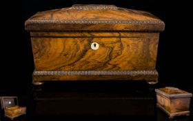 Early Victorian Period Large Sarcophagus