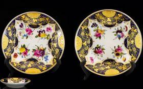 Coalport - Good Quality Porcelain Mid 19