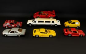 A Mixed Collection Of Model Cars Seven i