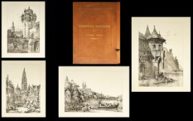 European Sketches By Samuel Prout Large