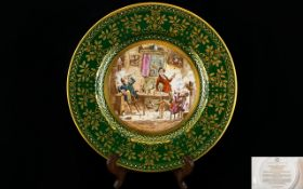 Caverswall Christmas Plate dated 1982, b