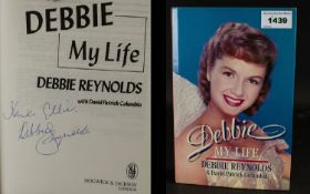 Debbie Reynolds Autograph In Her Hard Ba
