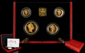 United Kingdom Ltd Edition Gold Proof Sovereign Four Gold Collection for 1991.