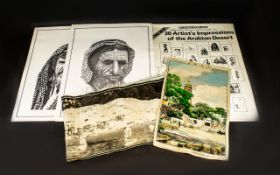 A Limited Edition Portfolio Of Arabian Prints Monochrome prints depicting Portraits,