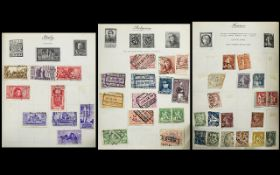 Small Royal mail stamp album, with good