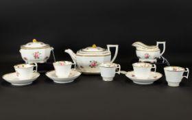 Regency Period Spode Felspar Porcelain B