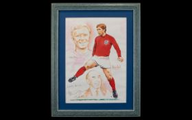 Football Interest Alan Ball Autograph Fr