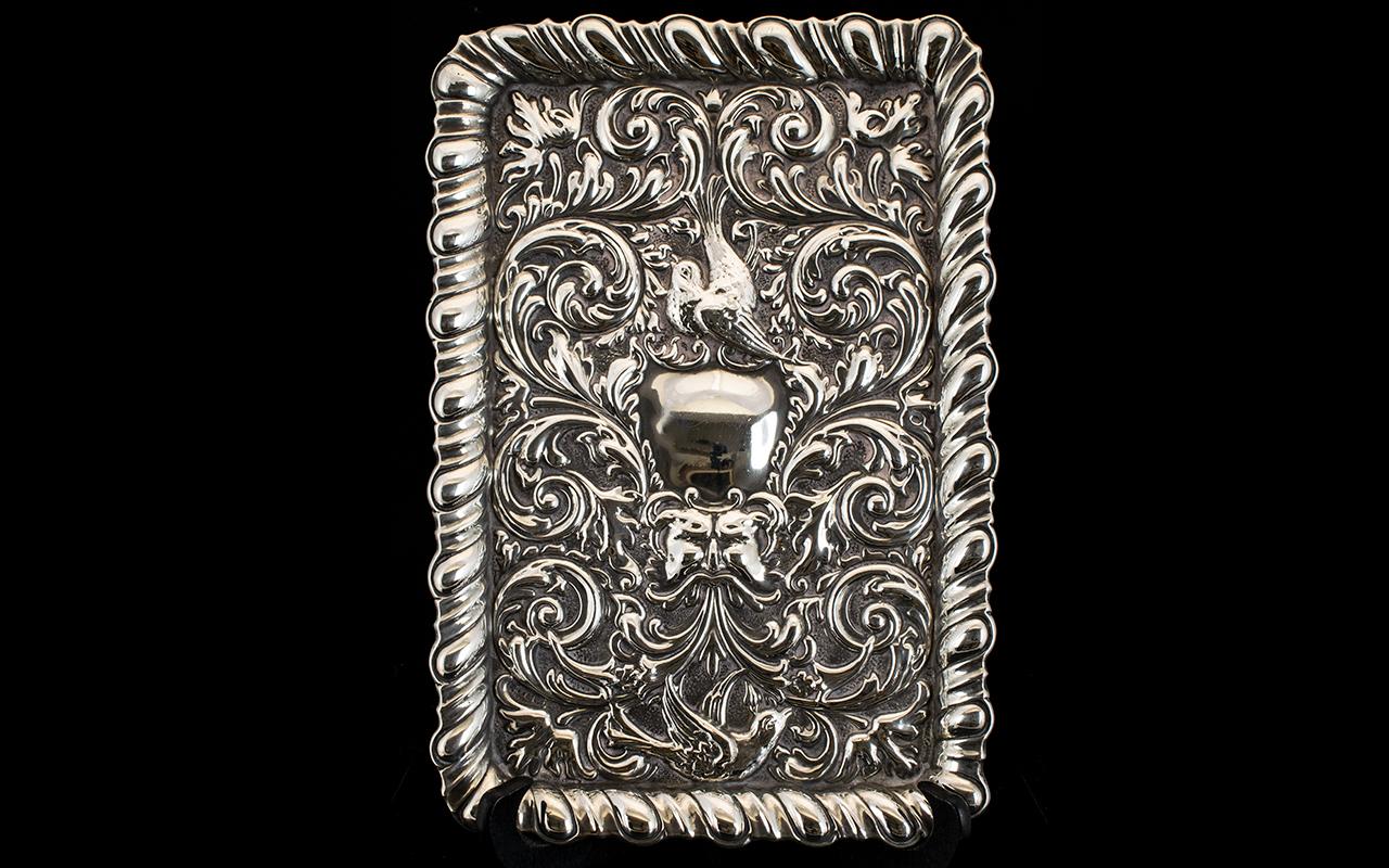 Lot 112 - Art Nouveau - Impressive Rectangular Sha