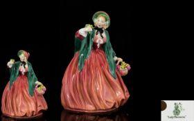 Royal Doulton Hand Painted Figurine ' La