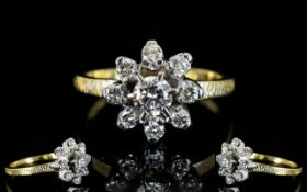 Ladies - Superb Quality 18ct Yellow / Wh