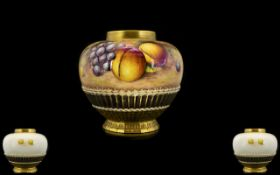 Royal Worcester Quality Hand Painted - O