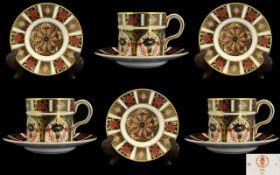 Royal Crown Derby Old Imari Pattern Set