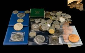 Mixed Lot Of Various Coins To Include Two Britain's First Decimal Coins Sets, Three Pences,