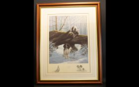 Nigel Hemming (British b. 1957) Artist Signed Limited Edition Print 'Over And Under' Framed and