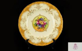 Royal Worcester Hand Painted and Signed