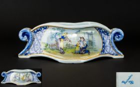 French Quimper Ware - Hand Painted 19th