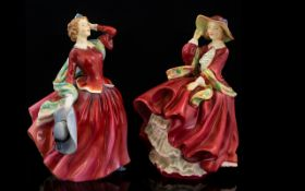 Two Early 1930's Royal Doulton Figurines