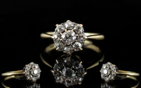 18ct White Gold Attractive Diamond Set -