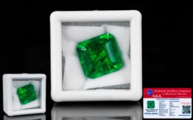 Emerald Loose Gemstone With GGL Certific