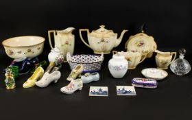 Collection of Mixed Ceramics to include