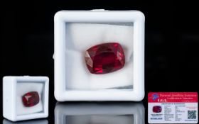 Ruby Loose Gemstone With GGL Certificate