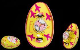 Swatch Original Eggs Dream Wristwatch, (