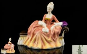 Royal Doulton Hand Painted Figurine ' Re