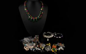 Good Collection of Costume Jewellery, In