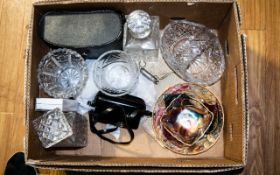 Assorted Collectables to include glass d