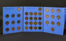 Great Britain Halfpennies 1902 - 1936 Pr