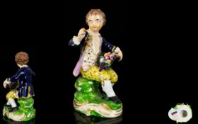 Bloor Derby Hand Painted Porcelain Figur