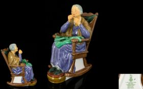 Royal Doulton Hand Painted Figure ' Stit